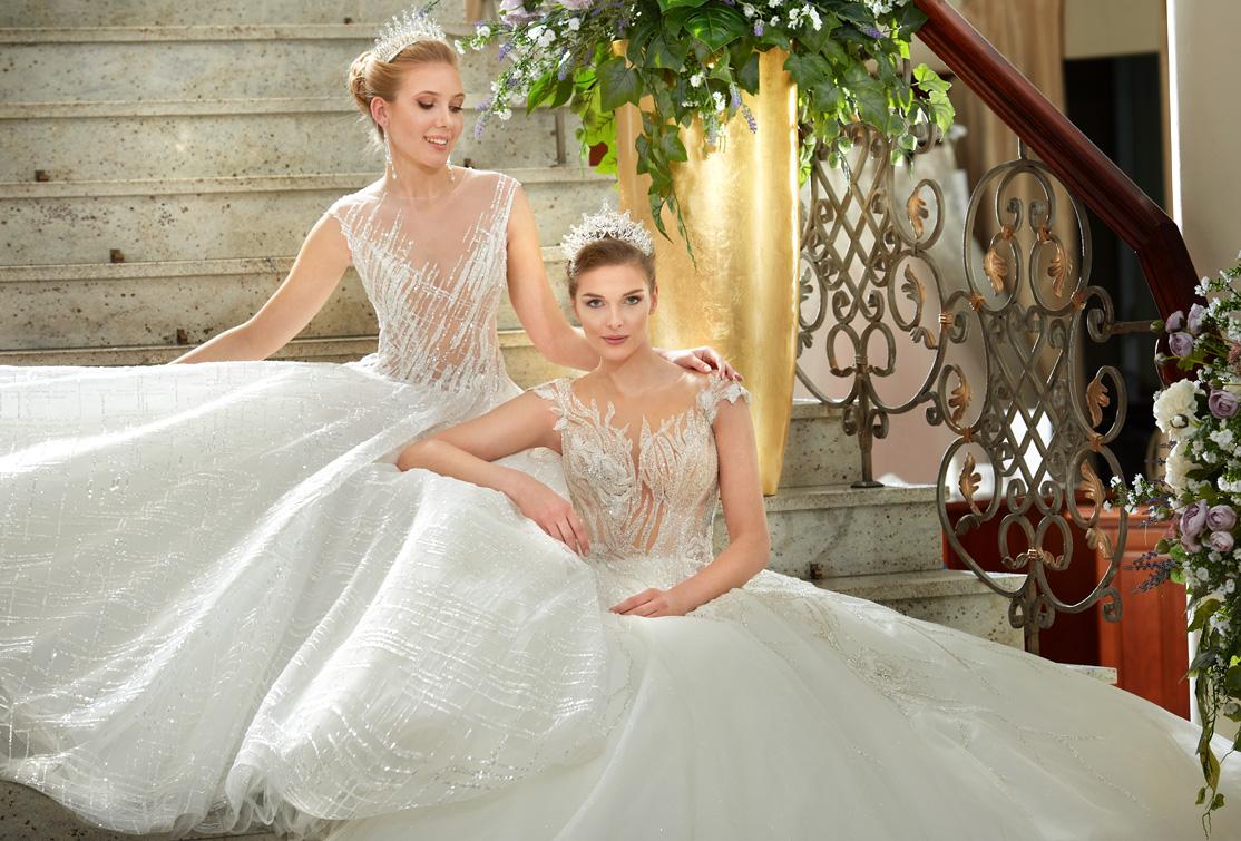 Princessy suknie ślubne w Salonie Agora Wrocław