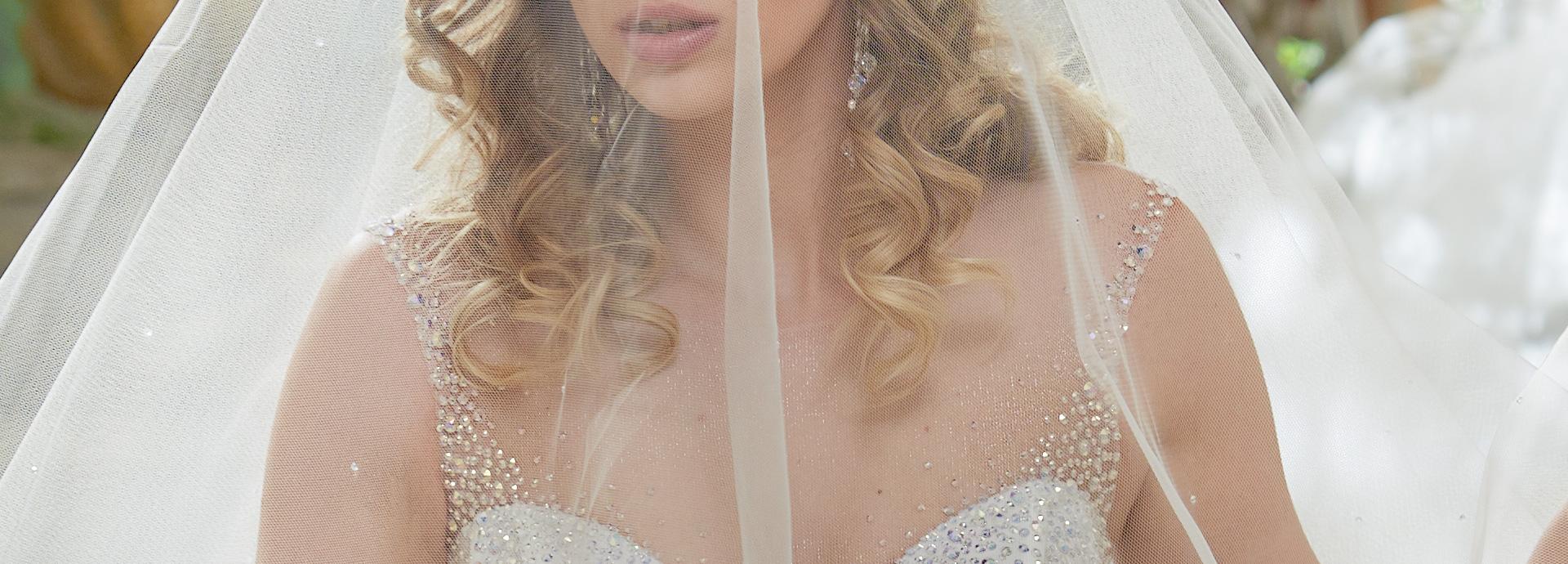 Suknia ślubna z kryształami Swarovskiego Agora Wrocław