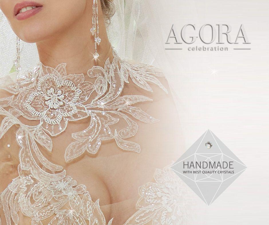 Suknie Agora nandmade best crystals
